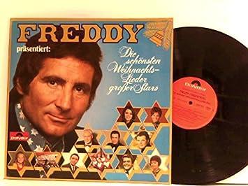 Freddy Präsentiert Die Schönsten Weihnachtslieder Großer Stars.Freddy Präsentiert Die Schönsten Weihnachts Lieder Großer Stars Lp De Polydor 0666 511