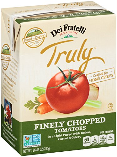Dei Fratelli - Truly Finely Chopped Tomatoes w/Onion, Carrot & Celery - 26.46oz Carton - 12 pack