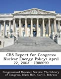 Crs Report for Congress, Mark Holt, 1295255480