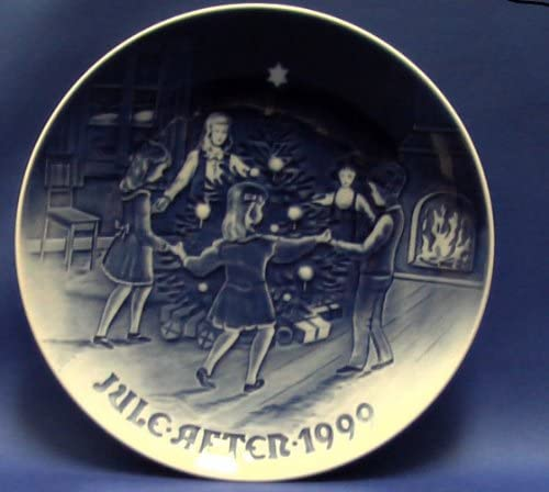 AOC with Original Box Limited Edition Plate No 105 Made in Denmark Bing /& Grondahl Christmas Plate 1999 Dancing On Christmas Eve