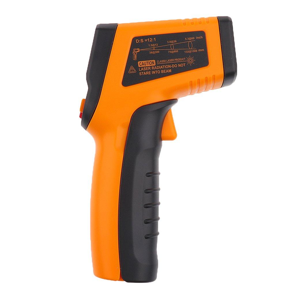 MagiDeal 1pz Termometro A Infrarossi Digitale IR A Raggi Senza Contatto Pistola per Misuratori di Temp 50-400 ℃