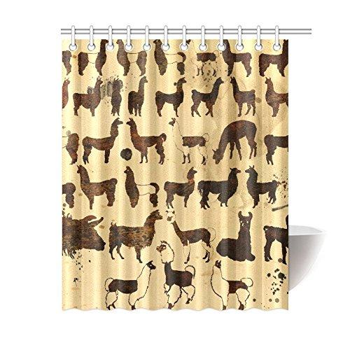 Funny Llama Shower Curtain