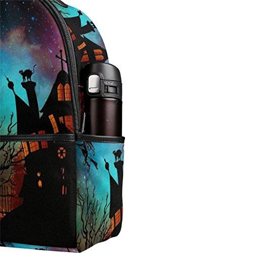 Voyage Dos Multifonctionnel Halloween BeiBao Cadeau Fermeture Sac école Parfait Sac Sac de Poche à Shopping à éclair nRnH0x8