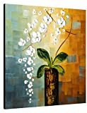 Wieco Art Beauty of Life Floral Oil Paintings on