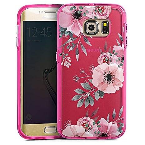 Samsung Galaxy S5 Bumper Custodia Bumper Case Custodia Fiore Senza