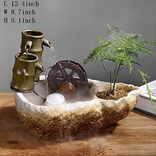 Fuente cerámica de sobremesa