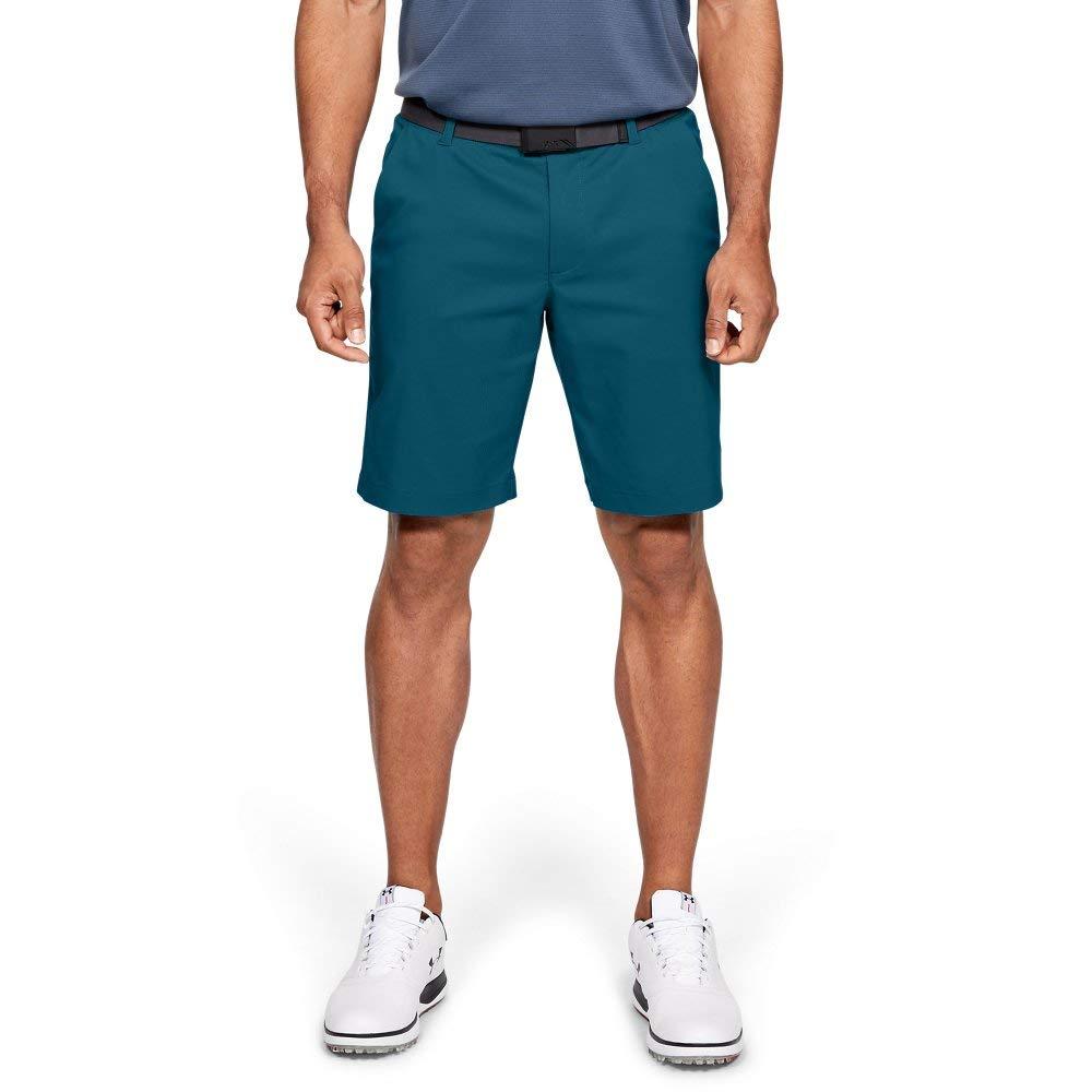 Under Armour Men's Showdown Golf Shorts, Teal Vibe//Tandem Teal, 32 by Under Armour