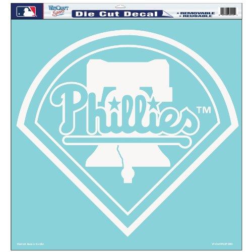 MLB Philadelphia Phillies 18-by-18 Diecut Decal