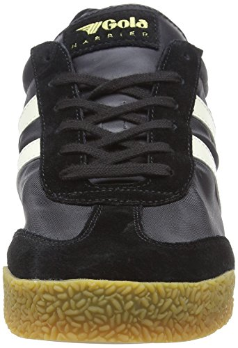 Gola Hombre Nylon Harrier Black White Negro Zapatillas para Bx Off rrIqw