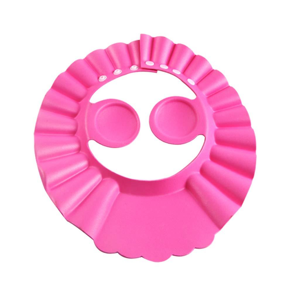 Baby Shower Cap Bathing Cap - 3 Pcs Soft Adjustable Visor Hat Safe Shampoo Shower Bathing Protection Bath Cap for Toddler, Baby, Kids, Children : Baby