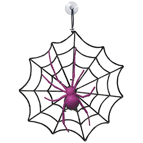 amscan Spider & Web Decoration