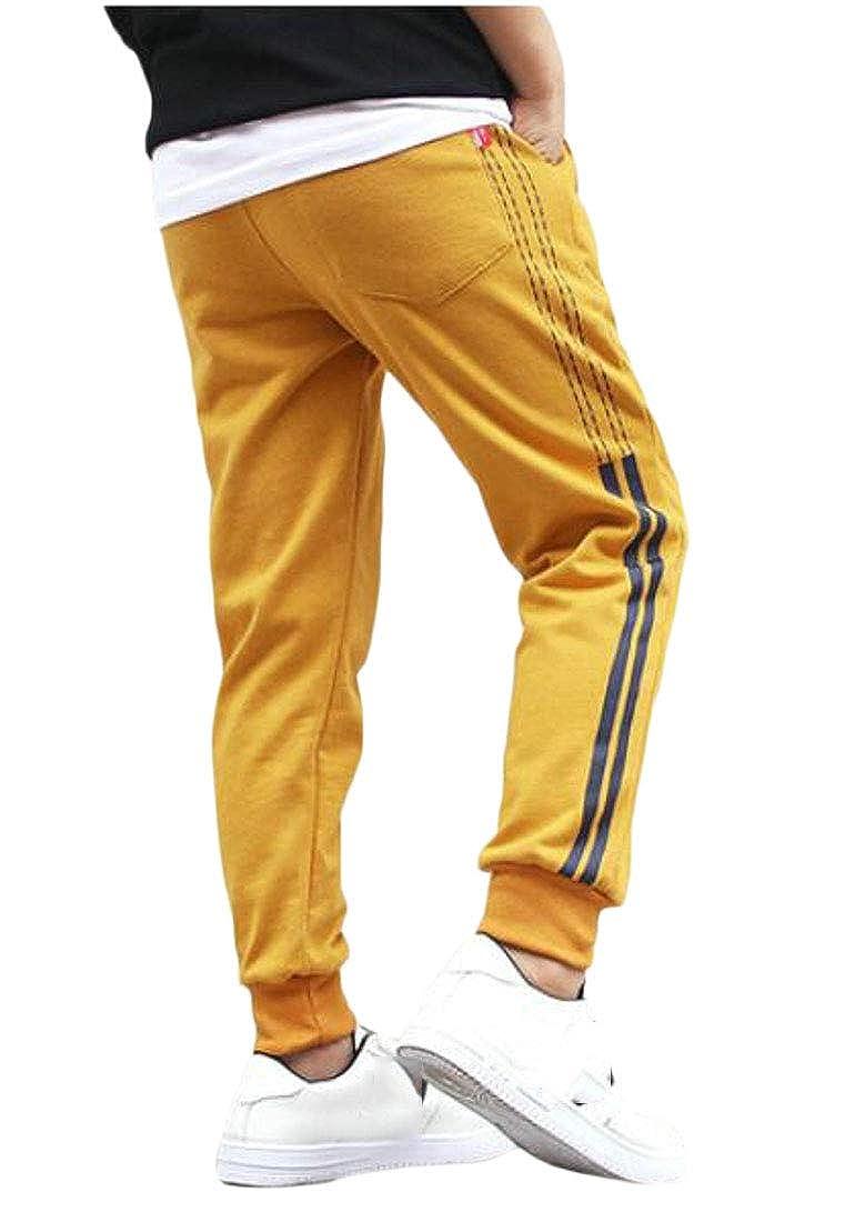 Pandapang Boys Slim Fit Jogger Sports Soft Cotton Sweatpants Pants