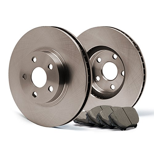 ((Front) OE Series Rotors w/Ceramic Pads Premium Brake Kit CP011541 | Fits: 2001 01 2002 02 2003 03 2004 04 Ford Escape)
