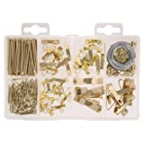 The Hillman Group 591525 Medium Picture Hanger Assortment, 200-Pack