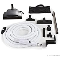 30 ft Central Vacuum Kit Wessel Werk Designed To Fit All Brands like Beam Electrolux Nutone