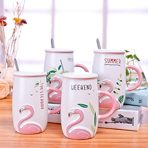 SATYAM KRAFT Coffee Mug With Ceramic Lid And Spoon – 1 Piece, White Price & Reviews