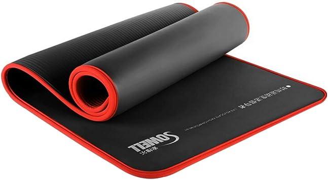 Matelas avec Sangle de Transport Tapis de Fitness sans polluants RE:SPORT Tapis de Yoga TPE sans Phthalates 183 x 61 x 0,6 cm Tapis de Gymnastique antid/érapant