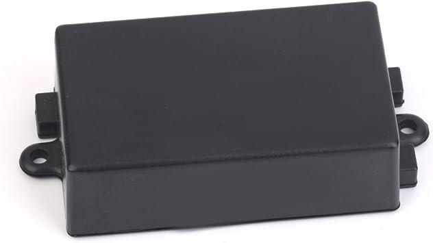65 X 38 X 22 Mm Caja De Terminales Caja De Plastico Para El Circuito Electronico Negro: Amazon.es: Bricolaje y herramientas