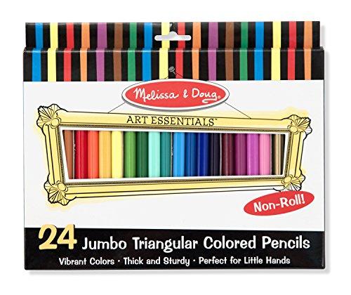 Melissa Doug Triangular Colored Pencils