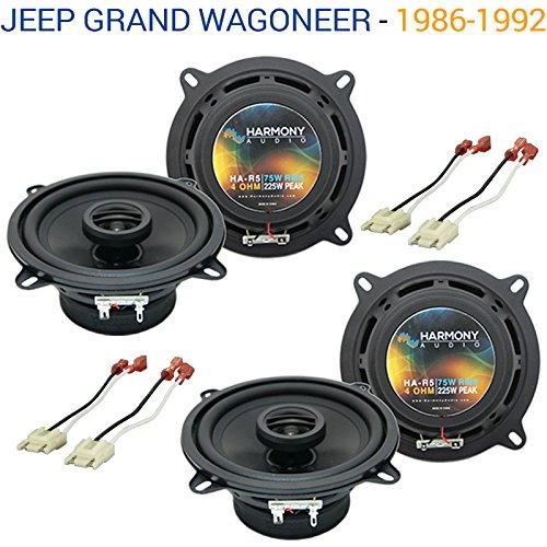 Fits Jeep Grand Wagoneer 1986-1992 OEM Speaker Replacement Harmony (2) R5 Package