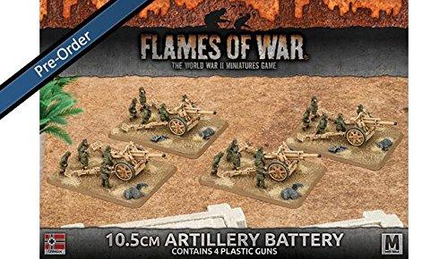 Flames of War 10.5cm Artillery Battery
