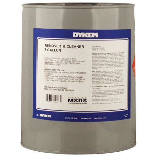 DYKEM 82838 Remover & Cleaner, 5 gal, Clear (Pack of 5) by Dykem
