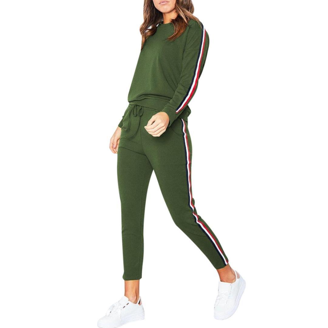 713b2c1db0e HOMEBABY Women Sports Sweatshirt Sets