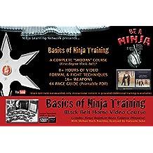 Ninjutsu DVD - Basics of Ninja Training - Blackbelt Video Course - Bujinkan