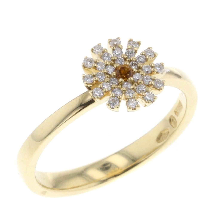 (ダミアーニ) Damiani マルゲリータ 10.5号 リング指輪 ダイヤモンド/K18イエローゴールド YG750 ダイヤモンド レディース 中古 [PD3] B07BYQT5MB
