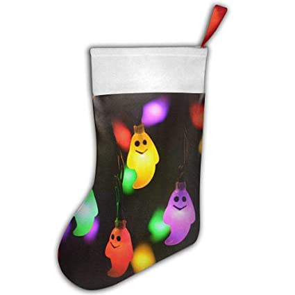 loioi67 ghost led holiday outdoor light christmas stocking xmas stocking santa snowman christmas decorations and party