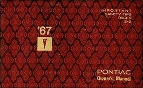 PONTIAC 1967 Bonneville, Catalina, GTO, Grand Prix & Tempest
