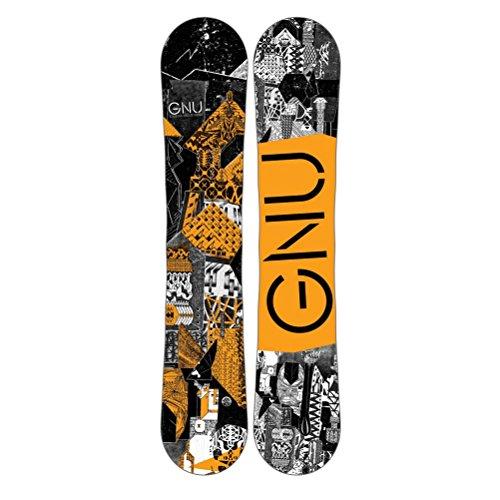 Gnu Carbon Credit BTX Boys Snowboard - 131cm/Orange Btx Snowboard