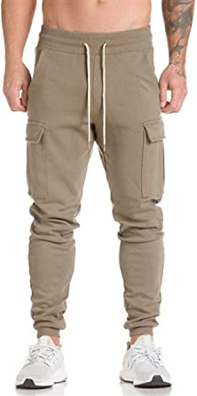 Pantalones De Vestir De Algodón Corte De Slim Vintage De Bolsillo ...