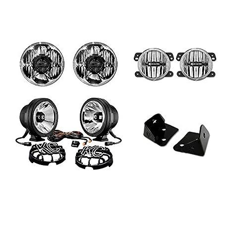 KC hilites calle legal - Kit de luz LED Etapa 2 Jeep JK: Amazon.es: Coche y moto