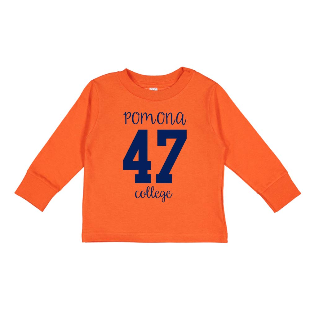 NCAA Pomona College C25RR01 Toddler Long-Sleeve T-Shirt