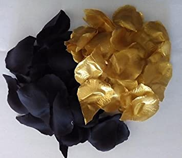 Sachsen Versand 500 Schwarz Gold Rosen Blüten Blätter