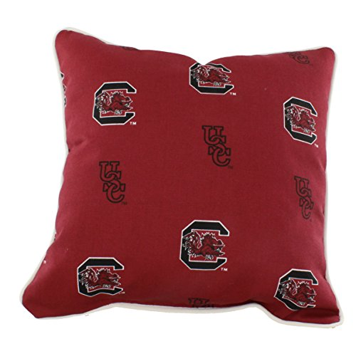 College Covers South Carolina Gamecocks Outdoor Decorative Throw Pillow, 16