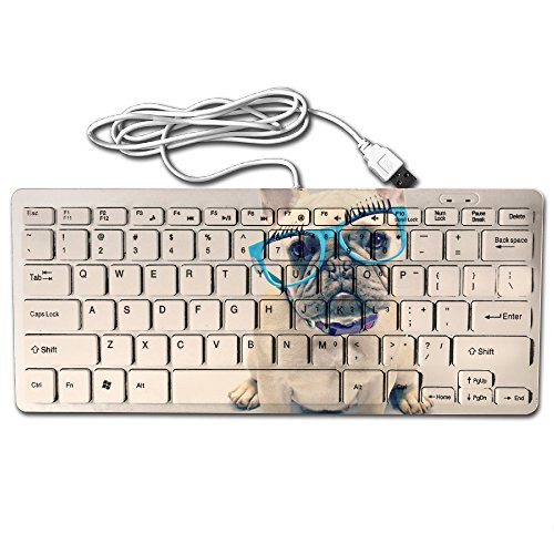 Ming Horse Office Or Home Cool French Bulldog Sunglasses 78 Keys Portable Mini Ultrathin Keyboard 11.22x4.72x0.87 - Online Sunglasses Sale Cheapest