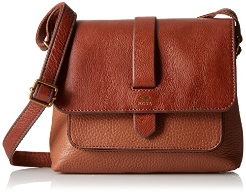 Fossil Kinley Small Crossbody, Brown, One Size by Fossil