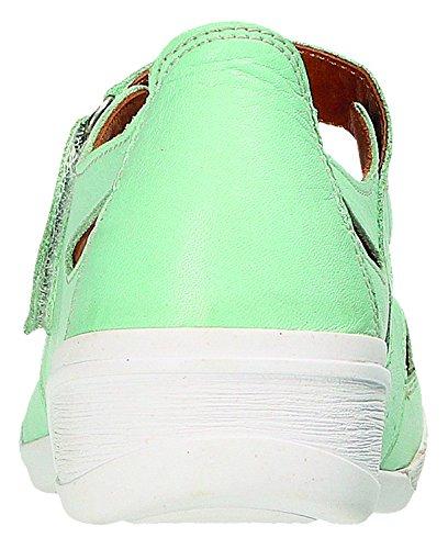 à de Vert Tilleul Lacets Pour vert Chaussures Miccos tilleul Femme Ville Vert t5w8Zcq