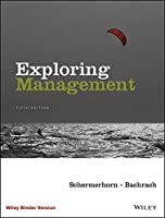 Exploring Management, 5th Edition Front Cover