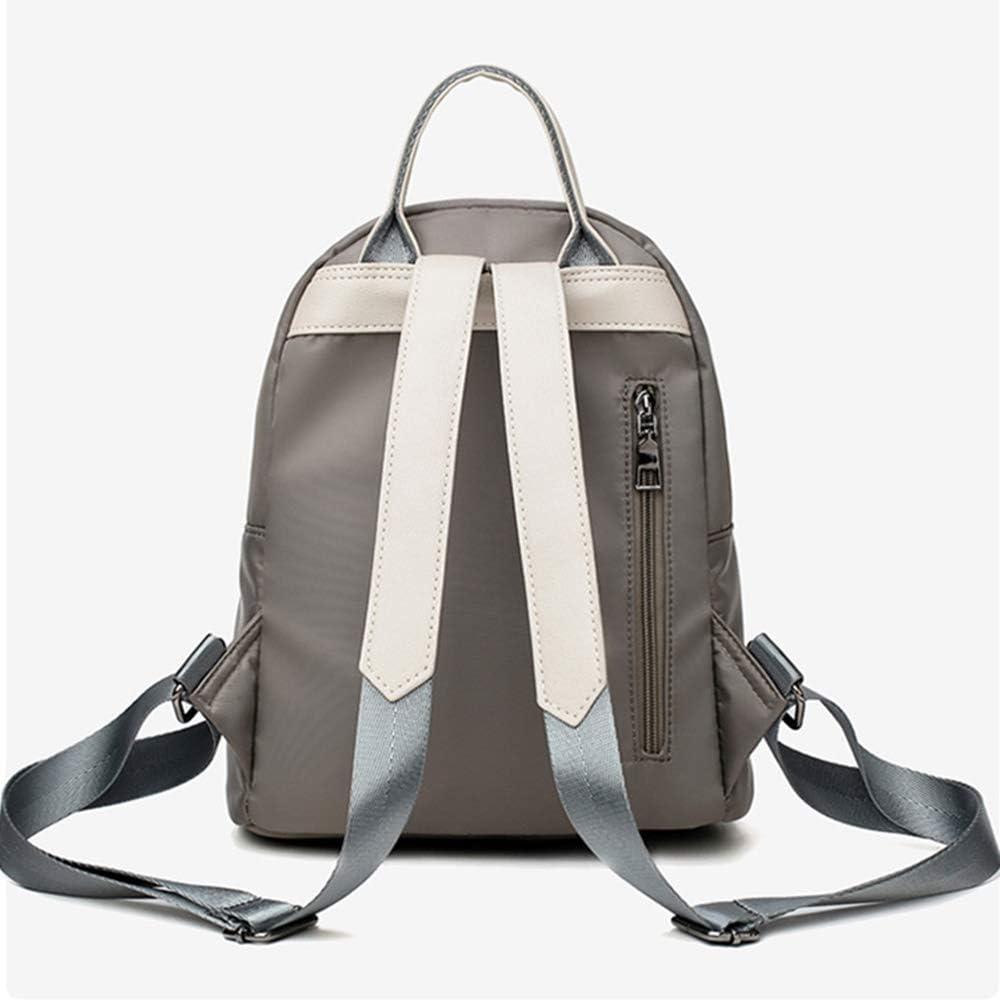 JUCHENG-TP Zaino Sportivo Semplice di Colore Puro Daypack per Scuola Viaggio Lavoro (Color : Dark Gray) Dark Gray