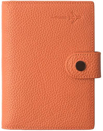 - Slim Passport Cover Ultra RFID Blocking US family 2 Passport Wallet for Women and Men Orange