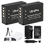NP-W126 Battery 2-Pack Bundle with Rapid Travel Charger and UltraPro Accessory Kit for Select Fujifilm Cameras Including X-Pro 1, X-E1, HS30EXR, and HS33EXR