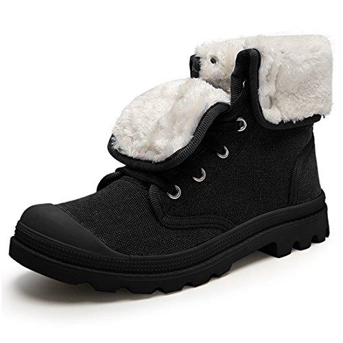 pour UK Fur Femme Black Noir Lined Bottes 5 36 XCR1328B Miyoopark t7qnwZgt