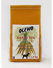 Olewo morötter peletts 1 kg – hundfoder
