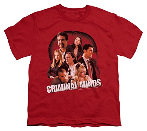 Price comparison product image Youth: Criminal Minds - Brain Trust Kids T-Shirt Size YL