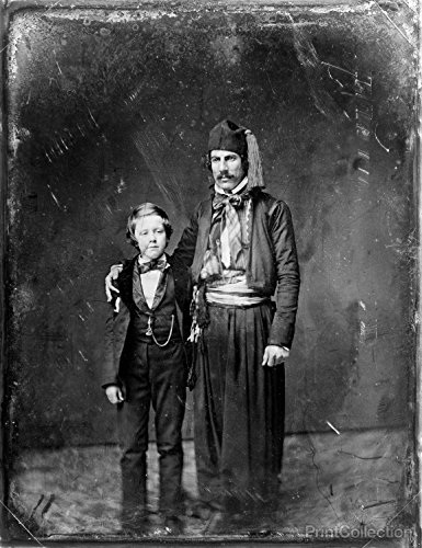 (Print Collection Boy And Man With Fez 36