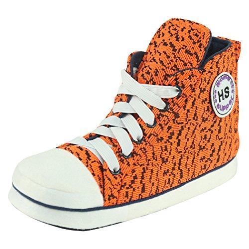 Casa Pantofole Donne Inverno Caldo Casa Coperta Scarpe Da Ginnastica Scarpe Stivali Arancione