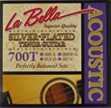 LaBella 700T Tenor Silver-Plated